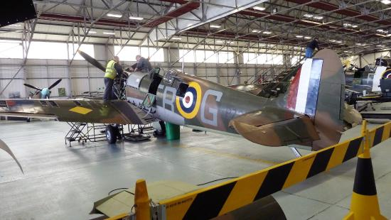 Coningsby, UK: Maintenance