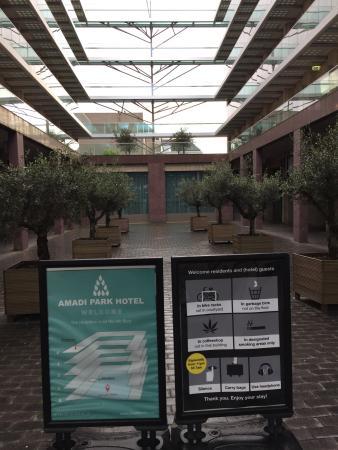 Amadi Park Hotel: Exterior