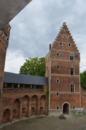 Flemish Brabant Province, เบลเยียม: cortile interno