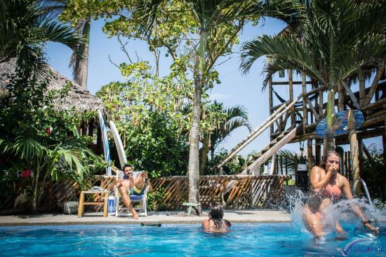 Hostel Viejamar Surf: Piscina Viejamar