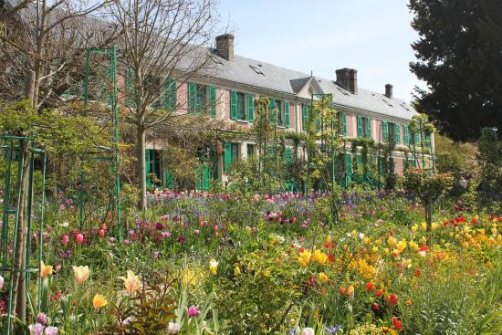 House Gardens At Giverny Picture Of Claude Monet 39 S