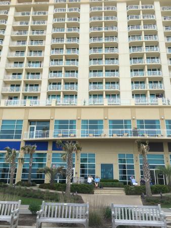 View Of Hilton Garden Inn Virginia Beach Oceanfront From The Beach