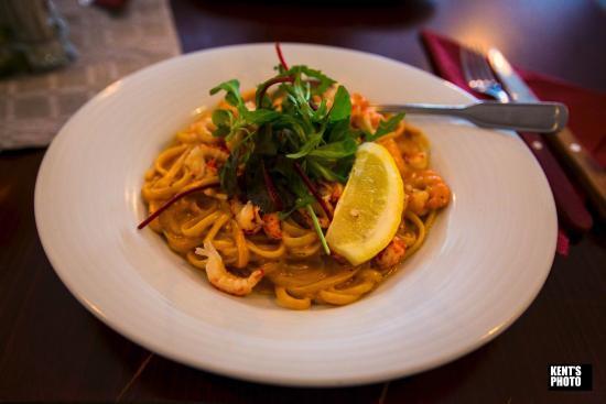 แวเนอร์สบอร์ก, สวีเดน: Sea-food pasta - recommended!