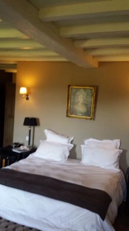 Lugon-et-l'Île-du-Carnay, France : This room was so gorgeous!!!!! Second floor with incredible view to vineyards.