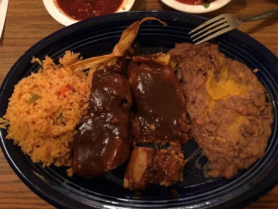 Los Vaquero's Mexican Grill: Pork Tamales
