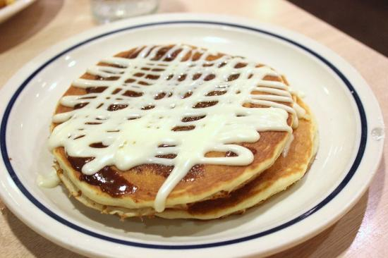 IHOP: Best cinnamon swirl pankes ever! :)