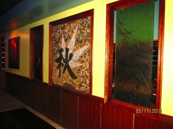 Aki Steak House and Sushi Bar : Decor