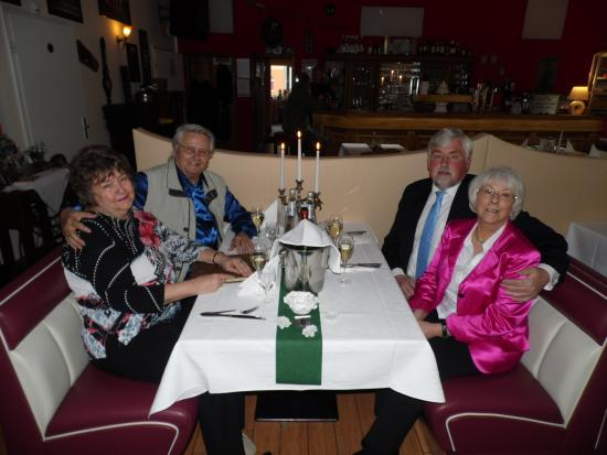 Eberswalde, Γερμανία: 2 mal 40 glückliche Ehejahre an einem Tisch 15.4.2016