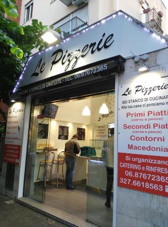 Le pizzerie roma ristorante recensioni numero di - Pizzeria le finestre roma ...