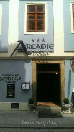 Hotel Arcadie: Вход в отель