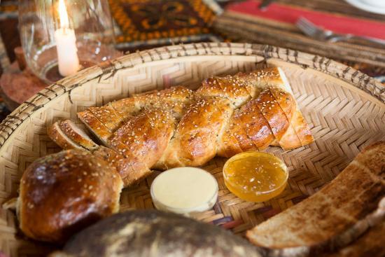 Angalia Tented Camp: Pan recién hecho por el chef de Angalía. Rico rico!