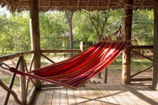 Angalia Tented Camp: La hamaca de las siestas y lecturas.