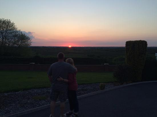 Creevagh, Irlanda: Enjoying the sunset