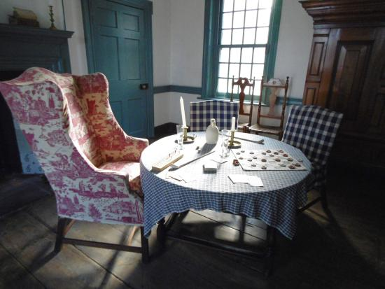 Kingston, NY: The interior of the Senat House tells a fascinating story of our City's role in Colonial times