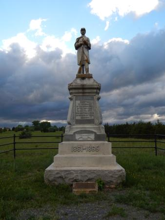 New Market, VA: The 54th PVI Monument