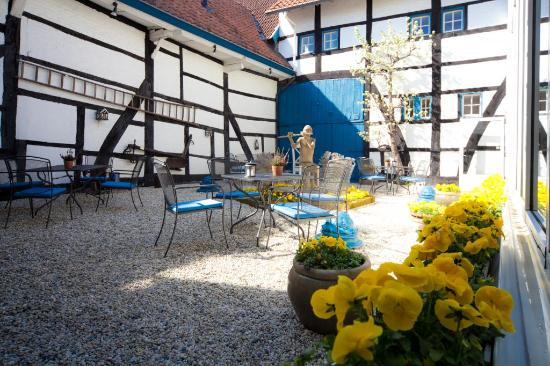 Hotel Brull : Binnenhof