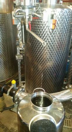 Three Oaks, MI: tour of Distillery