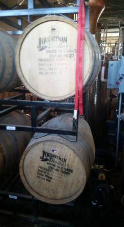 Three Oaks, MI: barrells
