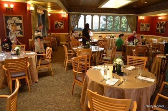Universal Studios Hollywood The Special Private Dining Room With Chef Prepared Meals For Vip Guests