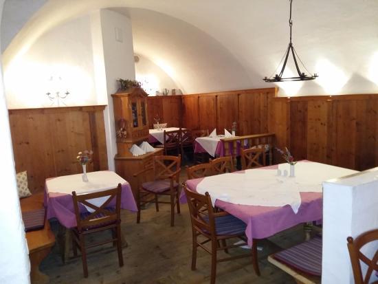 Hotel Lukashansl: Une des salles de restauration