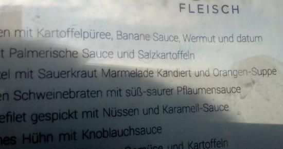 El Paso, Spanyol: ... mit ... Sauce, Wermut und datum ??? was ist Datum ???