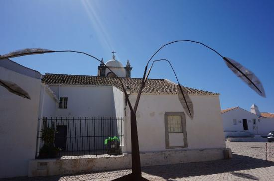 Vila Nova de Cacela, Portugal: Back of the church