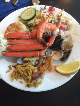 all you can eat prime rib and crab leg buffet picture of doc bales rh tripadvisor co za Best Seafood Buffet Seafood Buffet Sign
