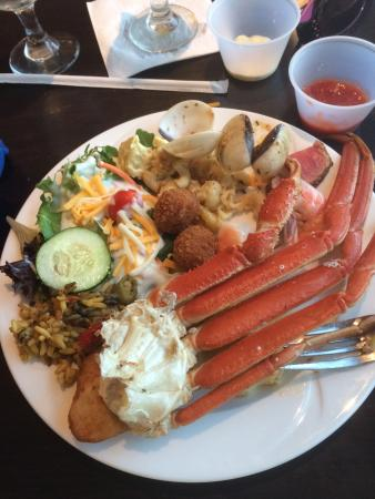 all you can eat prime rib and crab leg buffet picture of doc bales rh tripadvisor com