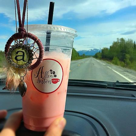 Soldotna, อลาสกา: The only coffee shop with the exclusive Energy Blast!