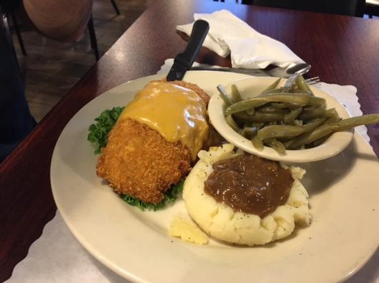 Early Bird Meatloaf Dinner - Picture of Frank's Diner, Hudson ...