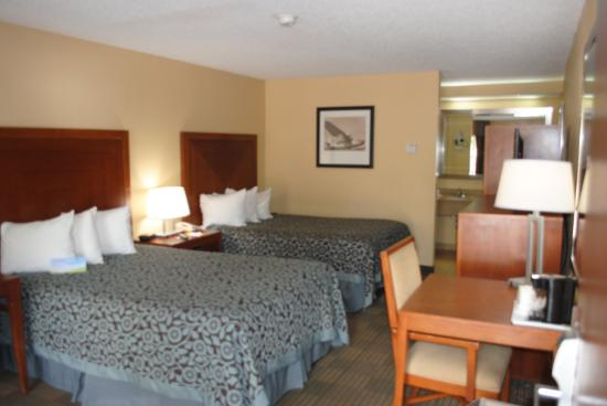 Days Inn Jacksonville Airport: Double bed room