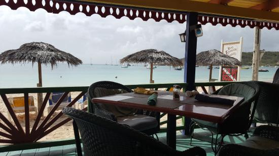 Roy's Bayside Grill: Tropical view