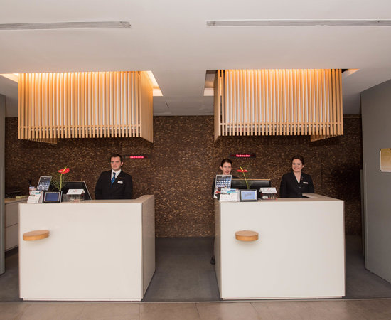 Front Desk at the Radisson Blu Conference & Airport Hotel