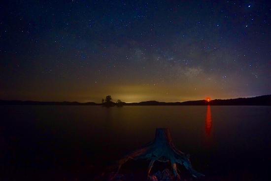 Beavers Bend Resort Park: Milky way in Broken Bow