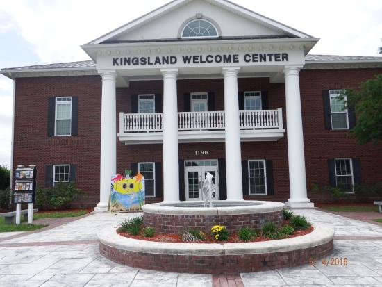 Kingsland Welcome Center is a new building & pretty neat too