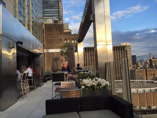 Rooftop Bar - Picture of Fairfield Inn & Suites New York ...