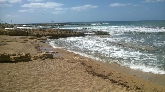 Constantinou Bros Athena Royal Beach Hotel: Hotel beach area