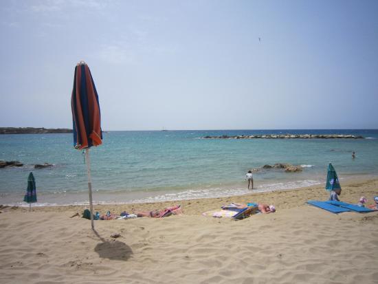 Constantinou Bros Athena Royal Beach Hotel: Coral Beach