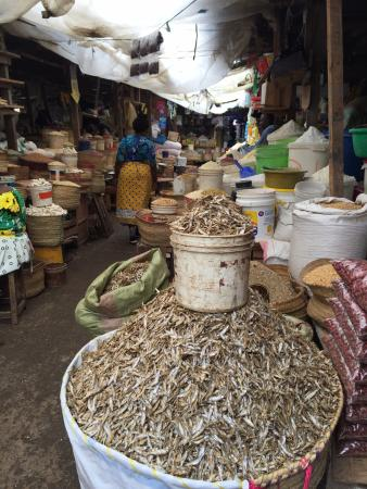 Central Market: Dried fish
