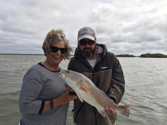 First catch picture of get hooked charter fishing for Bonita springs fishing charters