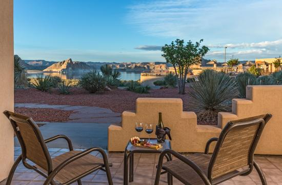 Lake Powell Resort: Lake View Patio  View