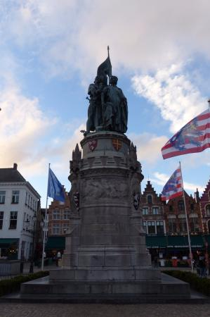 Jan Breydel and Pieter de Coninck Monument