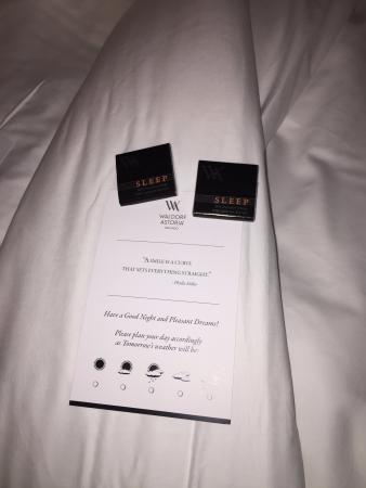 Waldorf Astoria Orlando: Chocolate at Turn Down
