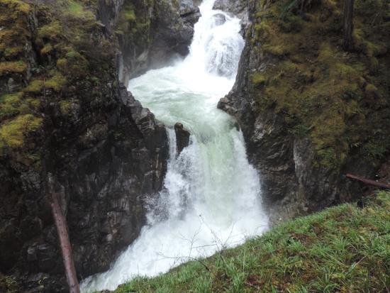 Nanaimo, Canadá: Quedas da Cascata