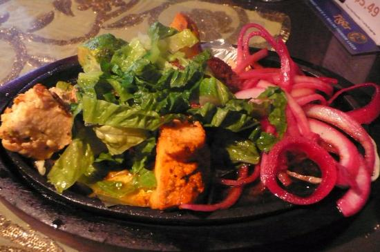 Tandoori Mint: Appetizer of platter