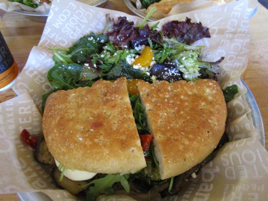 Urbane Cafe: Tuscan Sandwich