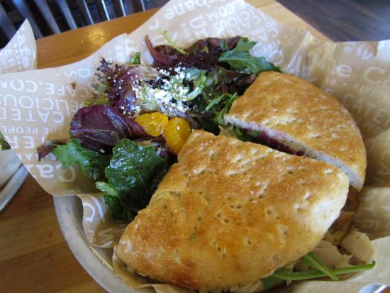 Urbane Cafe: Cranberry Brie Turkey Sandwich