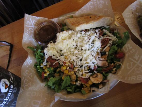 Urbane Cafe: The Protein Salad