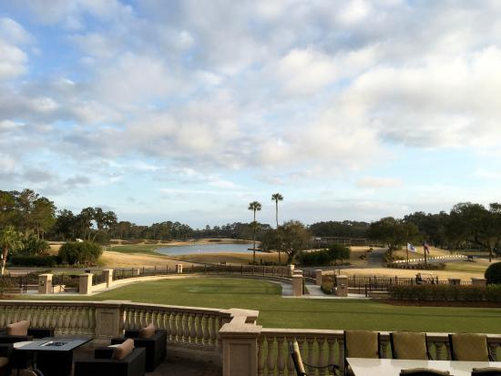 Sawgrass Country Club: View from the restaurant