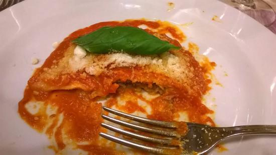 Osteria Ristorante La Greppia: Ravioli was excellent!